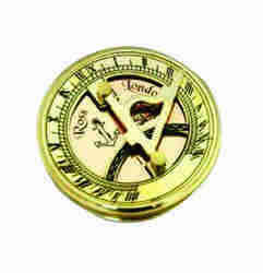 Antique Nautical Compass Art