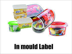 In Mould Labels in Container