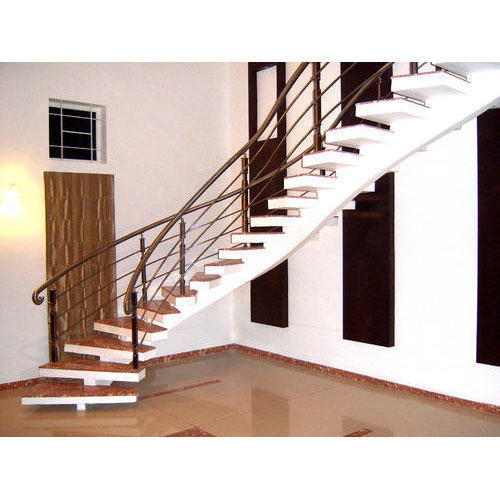Stringer Beam Staircase - View Specifications & Details of Staircase
