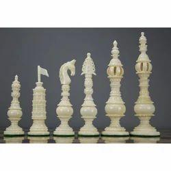 White Tower Chess Set