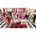Store Garment Display Stand