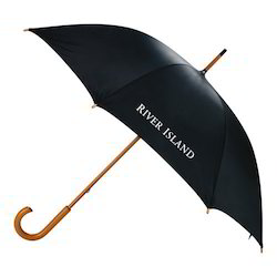 Men''s Umbrella with Wooden Handle