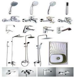 Stainless Steel Silver Color Bath Complete Set