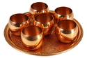 Copper 4 Pisces Bar Set