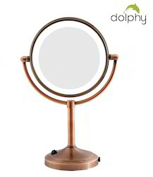 LED Magnifying Tabletop Mirror