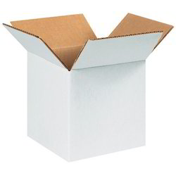 Plain white Shipping Box