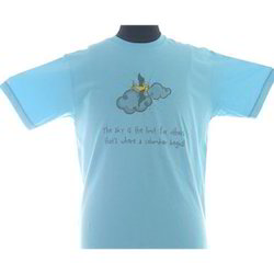 Turquoise Boys Casual T-Shirt