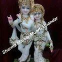Marble Radha Krishna Moorti