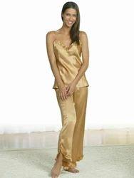 Plain Golden Nightwear