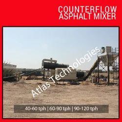 Counterflow Asphalt Mixer