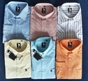 42 And 44 Printed And Embroidered Garment Stock Lot Shirt