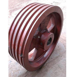5 Groove Cast Iron Pulley