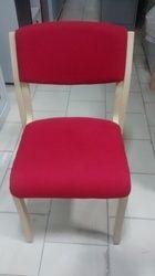 Richi Modern Wooden Visitor Chair, Seat 16