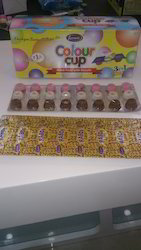 Color Cup Chocolate Biscuit Three Flavor