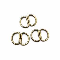 Zinc Alloy Metal Slide Buckle, For Buckles, Packaging Type: Box