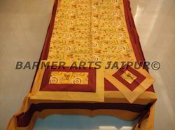 Silk Embroidery Bed-cover