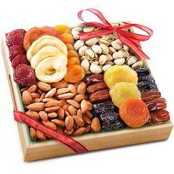 Tag Wooden Dry Fruits Gifts, For Corporate Gifts, Packaging Type: Box