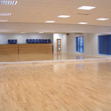 1000 Sq Ft Aerobic Wooden Hall Flooring