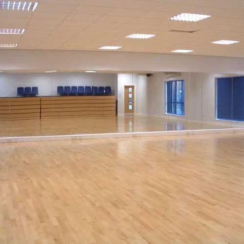 1000 Sq Ft Aerobic Wooden Hall Flooring, Laminate Flooring For 1000 Sq Ft