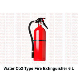 Water Co2 Type Fire Extinguisher 6 L