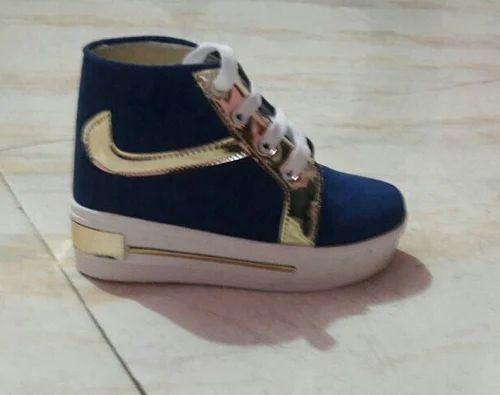 Women Kids Girls Shoes Jeans Long, Rs