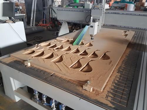 CNC Wood Saw Cutting Machine at Rs 600000 /number | Sector ...