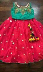 Georgette Kids Traditional Dresses