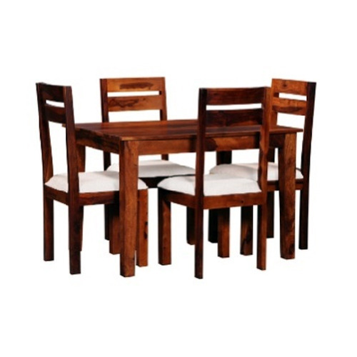 2215a3d898 Solid Wood 4 Seater Dining Set at Rs 15000 /piece   Wooden Dining ...