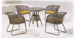 Star Style Wicker Outdoor Coffee Set