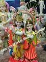Marble Radha Krishana idol