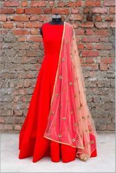 Fancy Anarkali Designer Suit