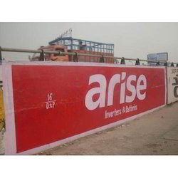 Outdoor Wall Painting Advertising Services