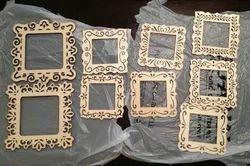 Wooden Golden MDF Photos Frame, For Decoration