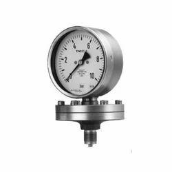 Diaphragm Type Baumer Homogenizer Pressure Gauge