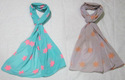 Rayon Color Shaded Head Scarves