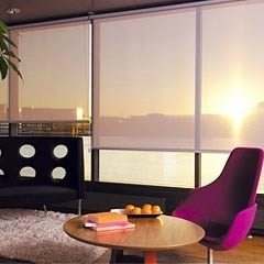 Wooden Vertical Roller Blinds