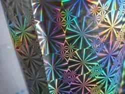 Transparent Holographic Atomic 12 Micron Film