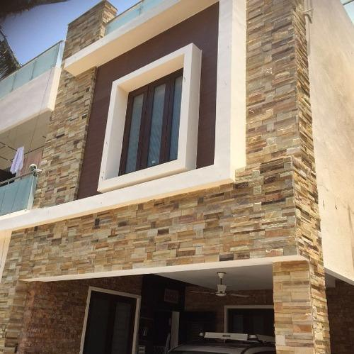 Front Elevation Tiles Price : Exterior wall cladding tile दीवार पर चढ़ाई