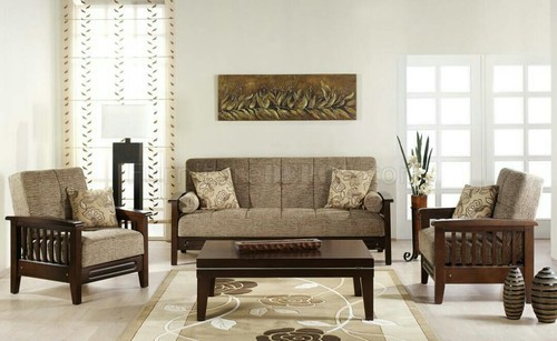 Wooden Sofa Set - Wooden Sofa Manufacturer from Bengaluru