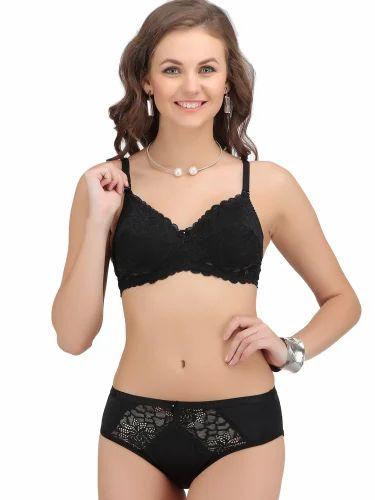 5f939c576 Lycra Cotton Net Lingerie Set