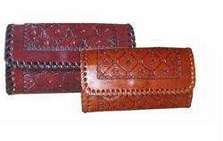 Handmade Leather Ladies Wallet