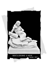 Lady Statue, Size/Dimension: 20 Inches