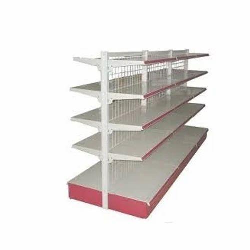 Steel Supermarket Display Rack