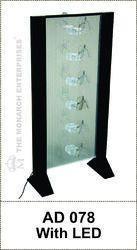 Eye Wear Sunglass Acrylic LED Display Stand