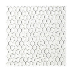 Hexagonal Silver Chicken Wire Mesh, Thickness: 24 Guage
