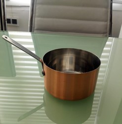 Stainless Steel Copper Plated Serving Fry Pan