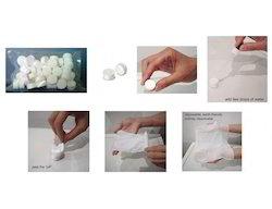 Cotton White Tablet Tissue, Size: Small