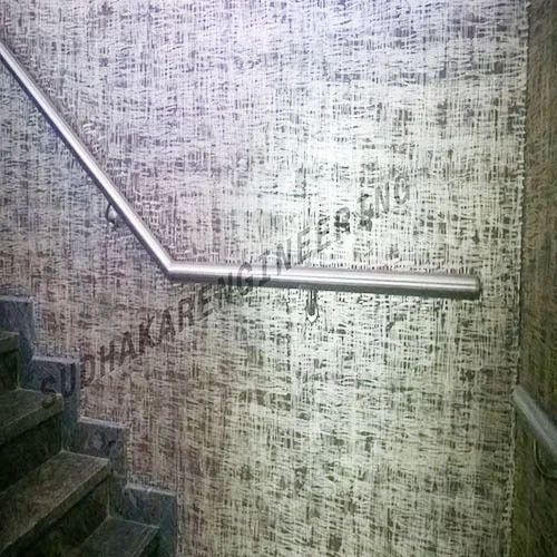 Steel Polished Wall Mount Railing