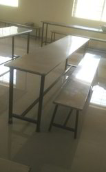 Vinayak Mess SS Table And Bench/ Canteen Table Bench