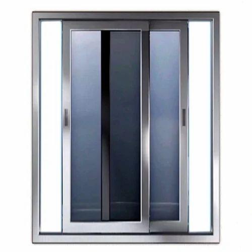 aluminium sliding door at rs 700 square feet s. Black Bedroom Furniture Sets. Home Design Ideas